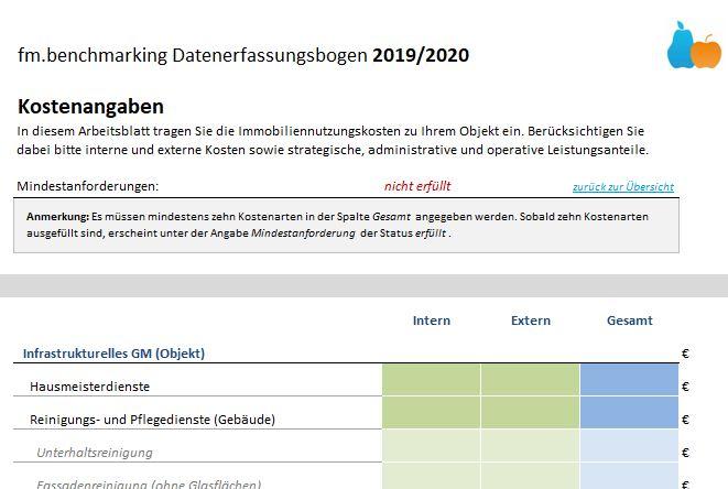 Es geht wieder los: Benchmarking 2020/2021 gestartet